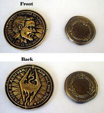 The Elder Scrolls Oblivion Imperial Septim Coin & PAX 2013 Ouroboros Coin