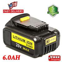 For DEWALT DCB204-2 20V 20 Volt MAX XR Lithium 6.0AH Battery Packs New DCB205