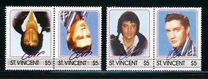ST VINCENT Elvis Presley ERROR: Scott #877 $5 INVERTED CENTER $$$
