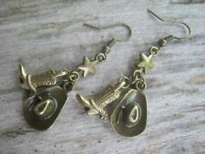 Country Western Earrings Cowboy Hat Earrings Country Jewelry