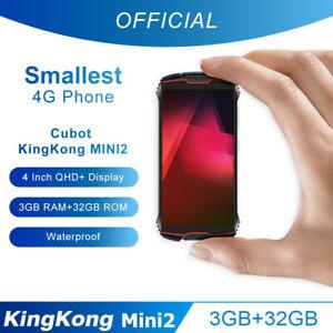 4'' CUBOT KingKong Mini 2 Android 10 Smartphone 3GB+32GB 4G Dual SIM 3000mAh