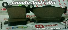 KTM 450 SX F FRONT REAR BRAKE PADS SET SEMI METALLIC KTM450SX 450SX KTM450 SXF