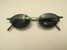 cf021ee5a61 Augusto Valentini Mod 8000 Col 729 Green Metal Rare Vintage Sunglasses ITALY