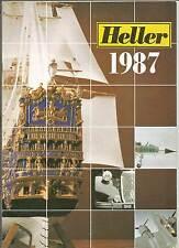 Catalogue vintage Heller 1987