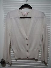 Juicy Couture cardigan size XS Ivory Quality cold office formal layer warm
