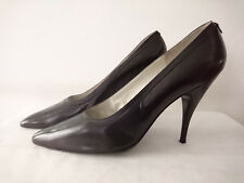 "Court Shoes "" Black "" Years 1960 - Grappe Bottier T.35,5"