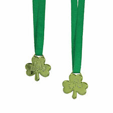 St. Patrick'S Day Lucky Shamrock Medals - Stationery - 12 Pieces