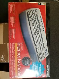 Microsoft Internet Keyboard 2001 Vintage, New in Box