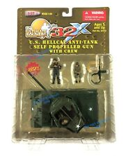 RARE CARDED 1:32 21st Century Toys Ultimate Soldier US Army M18 Hellcat Tank