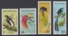 Papua New Guinea 1973 SG237/40 Birds of Paradise fine used set of 4