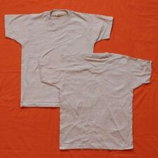VINTAGE SCREEN STARS NOS T-SHIRT Blank Grey Youth 10-12 50/50 Soft, USA Made 80s