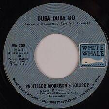 PROFESSOR MORRISON's LOLIPOP: Duba Duba Do PSYCH Oddbal White Whale 45 MP3
