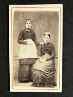 Victorian Carte De Visite CDV: Unknown Ladies: House Maids Servants
