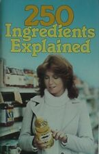 READNG FOOD LABELS - 250 INGREDIENTS EXPLAINED, 1983 BOOK (ADDITIVES, GLOSSARY+