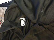 Directv  black polyester golf work employee  polo  shirt men's adult Large