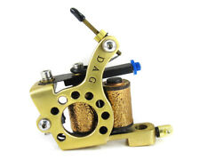 DIALER LINER Brass 8 wrap Coils Tattoo Machine Professional Art Ink Shop Supply