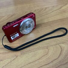 Sony Cyber-shot DSC-WX80 16.2MP Digital Camera - Red