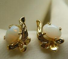 Australian Opal Earrings 4x6MM Opal gemstone Elegant Simplicity