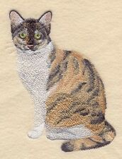 Embroidered Sweatshirt - Tortoiseshell Cat C7959 Sizes S - XXL