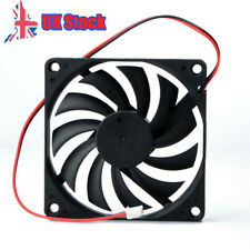 80mm 2 Pin Cooling Fan for Computer Connector Case Cooler CPU Radiator Cooling O