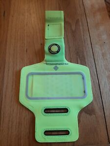 Ronhill Mobile Phone Armband Pouch Pocket Neon Yellow Reflective Night Running
