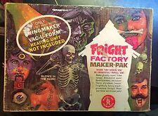 Vintage Mattel Fright Factory Maker Pak 1966 No Oven