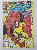AMAZING SPIDER-MAN #345 (1991) MARVEL 1ST FULL APPEARANCE CLETUS KASADY! VENOM!