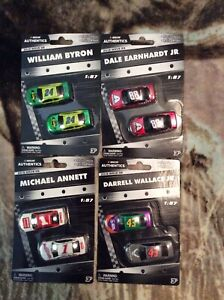 2019 Dale Jr/William Byron/Bubba Wallace/Michael Annett 1/87 Car Lot