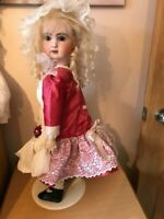 Hand made silk Outfit Antique/Repro Dolls 24/25""
