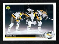 1992-93 Upper Deck #28 Jaromir Jagr Pittsburgh Penguins Hockey Card NM/MT