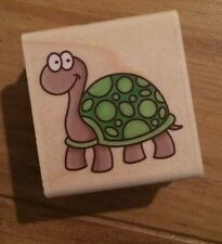 Stampabilities Turtle Rubber Stamp D118