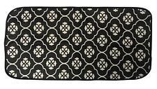 Black Flower Design Laminated Waterproof Foldable Baby Changing Mat Waterproof