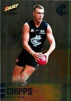 ✺New✺ 2020 CARLTON BLUES AFL Card PATRICK CRIPPS Footy Stars Prestige