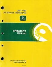 JOHN DEERE AMT 622 ALL MATERIAL TRANSPORTER OPERATORS MANUAL