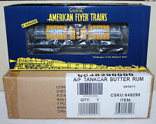 "American Flyer 48290 ""Butter Rum"" Lifesavers Tank Car in Original Box: 2010 TTOS"