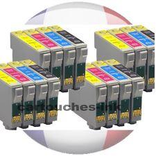 Jeu de 3 4 Black16 Cartouches D'encre compatibles Remplacer Epson T0715/t0711