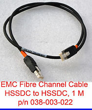 EMC 038-003-022 HSSDC TO HSSDC FIBRE CHANNEL CABLE FC CABLE EMC² NETWORK CABLE