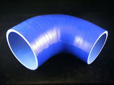 Durite Coude Silicone 90° degrés 51-76 mm 51mm - 76mm 3plis BLEU Tuning Racing