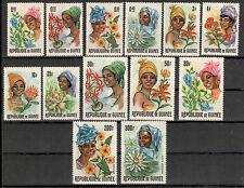 Guinea Michelnummer 368 - 380 Gummimängel (intern:Pflanzen 43)