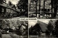 Walsrode Mehrbild Grußkarte 1959 gelaufen Eckernworth Heide Museum Klosterhof
