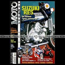 MOTO LEGENDE N°112-b HONDA RC 30 GUZZI V35 V50 ARDIE 250 SUZUKI RE5 NORTON MANX