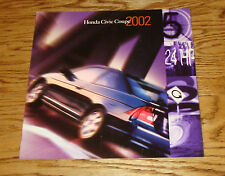 Original 2002 Honda Civic Coupe Deluxe Sales Brochure 02