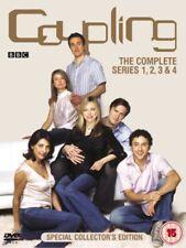 Coupling: The Complete Series 1-4 DVD (2004) Jack Davenport, Dennis (DIR) cert