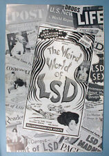 1967 The Weird World of LSD Original Movie Pressbook Drug Scare Exploitation