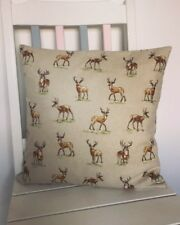 """Stag Deer cushion cover 16by16"""" home decor"""