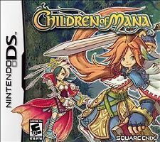 Children of Mana (Nintendo DS, 2006) Square Enix RPG