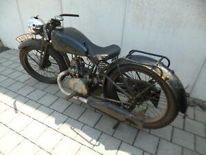 NSU ZD 201 Pony Block Bj 1937 läuft! Oldtimer, Scheunenfund Räder, Reifen neu