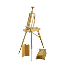 Loxley Artist's Wooden WILTSHIRE Sketch Box Travel & Studio Easel