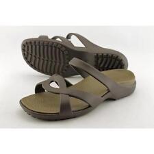 Sandali e scarpe infradito zeppa Crocs per il mare da donna