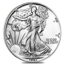 1987 1 oz Silver American Eagle Brilliant Uncirculated